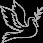 Символ мира - голубь и ветвь оливы